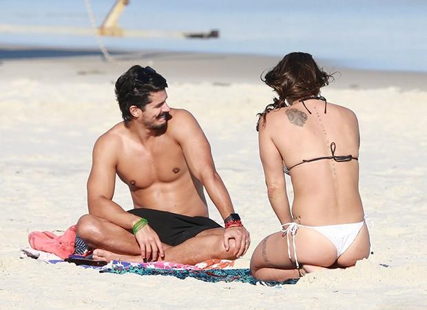 Priscila Fantin e Bruno Lopes (Foto: AgNews)
