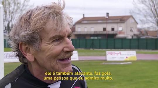Conheça Lamberto Boranga, goleiro profissional aos 75 anos da nona divisão