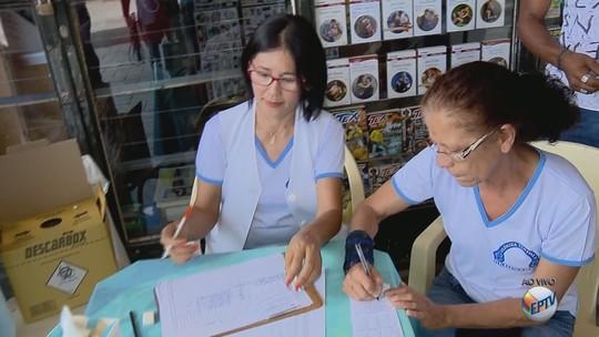 Equipes da Saúde fazem mutirão de vacinação casa a casa contra a febre amarela em Três Corações, MG