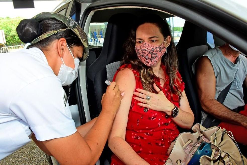 São Luís anuncia calendário de vacinação contra a Covid-19 para pessoas de 35 a 42 anos — Foto: Divulgação/Prefeitura de São Luís