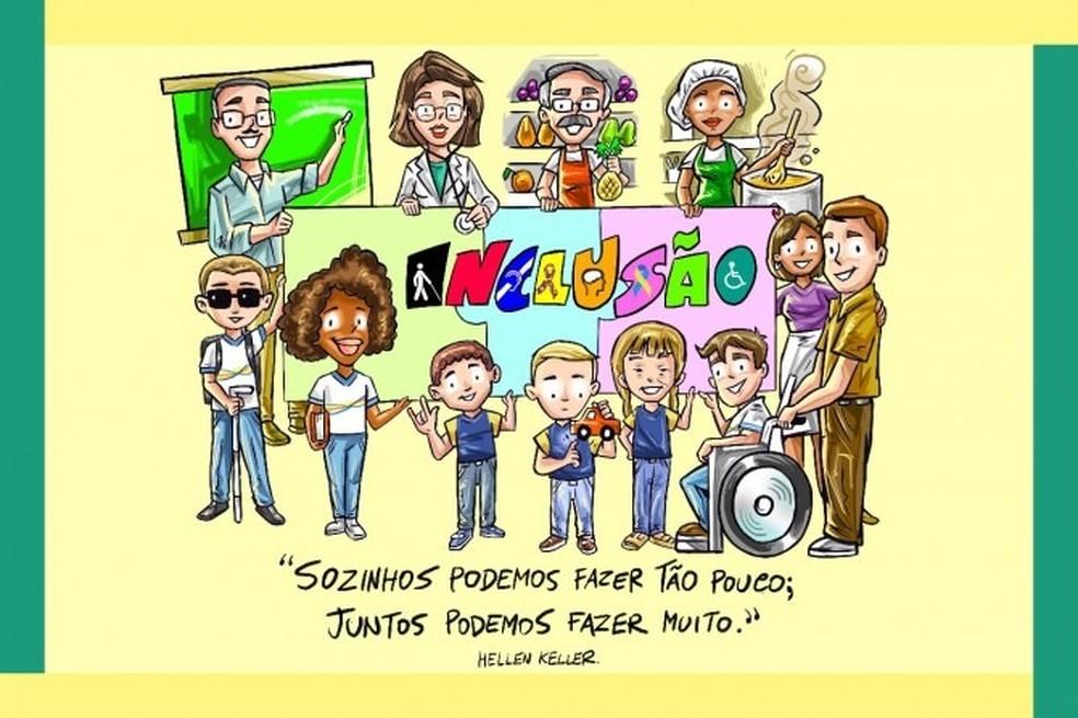 Semana Nacional da Pessoa com Deficiência  — Foto: Divulgação