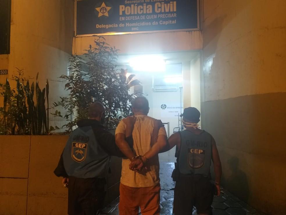 Ex-marido da juíza Viviane Arronenzi, o engenheiro Paulo José Arronenzi foi preso em flagrante após o crime, ocorrido na noite de véspera do Natal (24) — Foto: Reprodução