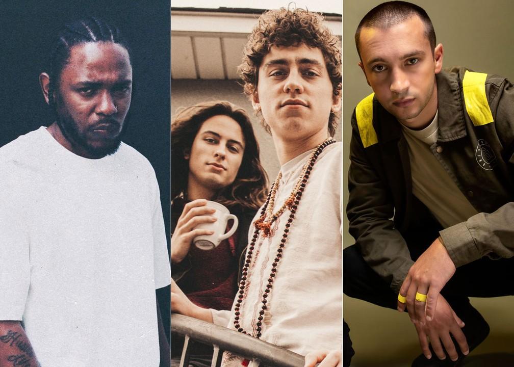 Kendrick Lamar, Greta Van Fleet e Twenty One Pilots são atrações do domingo de Lollapalooza — Foto: Divulgação