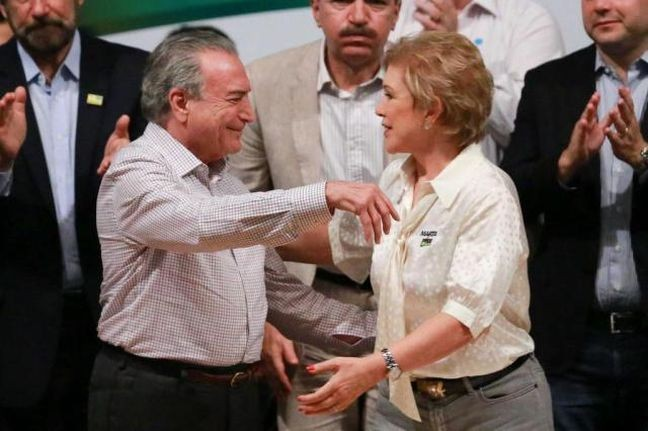 Michel Temer e Marta Suplicy (Foto: Vanessa Carvalho / Brazil Photo Press  / Estadão Conteúdo)