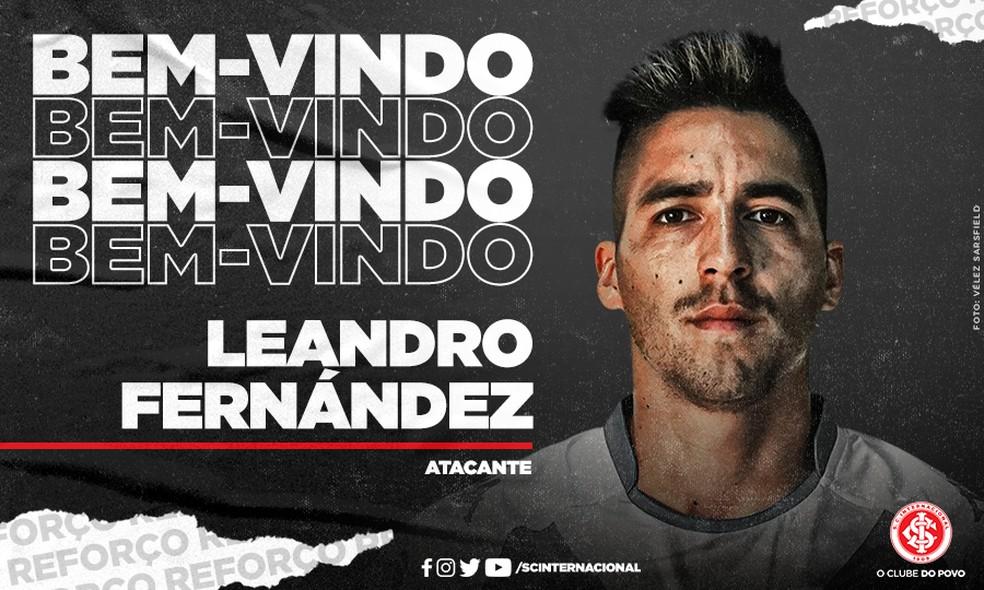 Inter contrata atacante Leandro Fernández, ex-Independiente | internacional  | ge