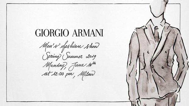 Assista ao desfile da Giorgio Armani em Milão (Foto: Divulgação)