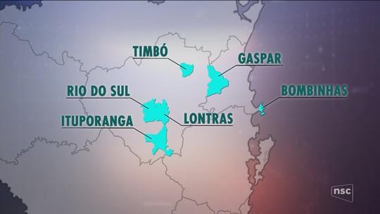 Gaeco cumpre mandados para apurar suspeita de corrupção na coleta de lixo em 7 cidades de SC
