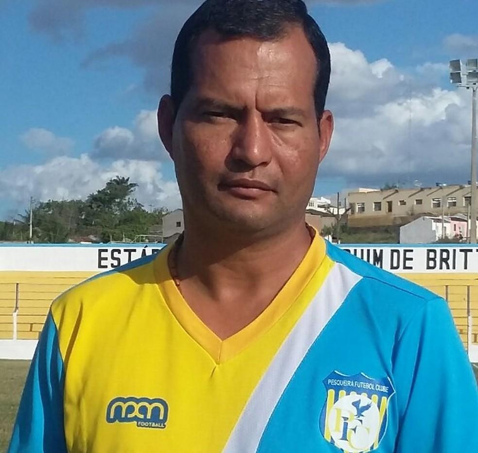 Alexandre Lima é o novo treinador do Flamengo de Arcoverde (Foto: Alexandre Lima / Arquivo Pessoal)