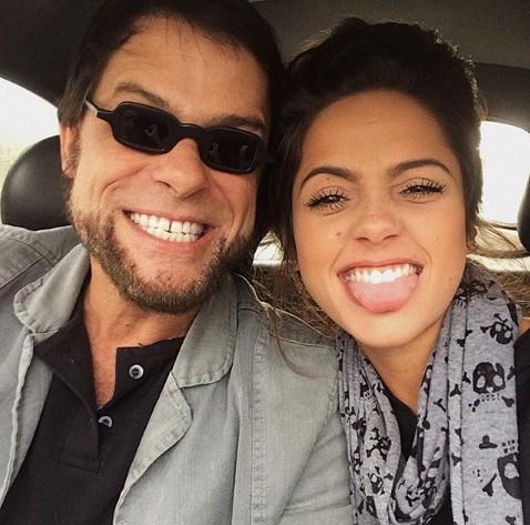 Clara Duarte e o pai, Marcos Winter (Foto: Reprodução/ Instagram)
