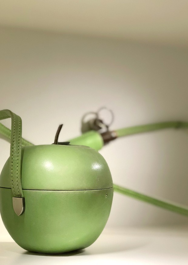 O porta-maçã (Foto: Anita Porfirio)