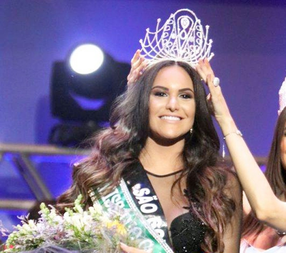 Milena Balza venceu o concurso de miss RN 2017 (Foto: Elias Medeiros)
