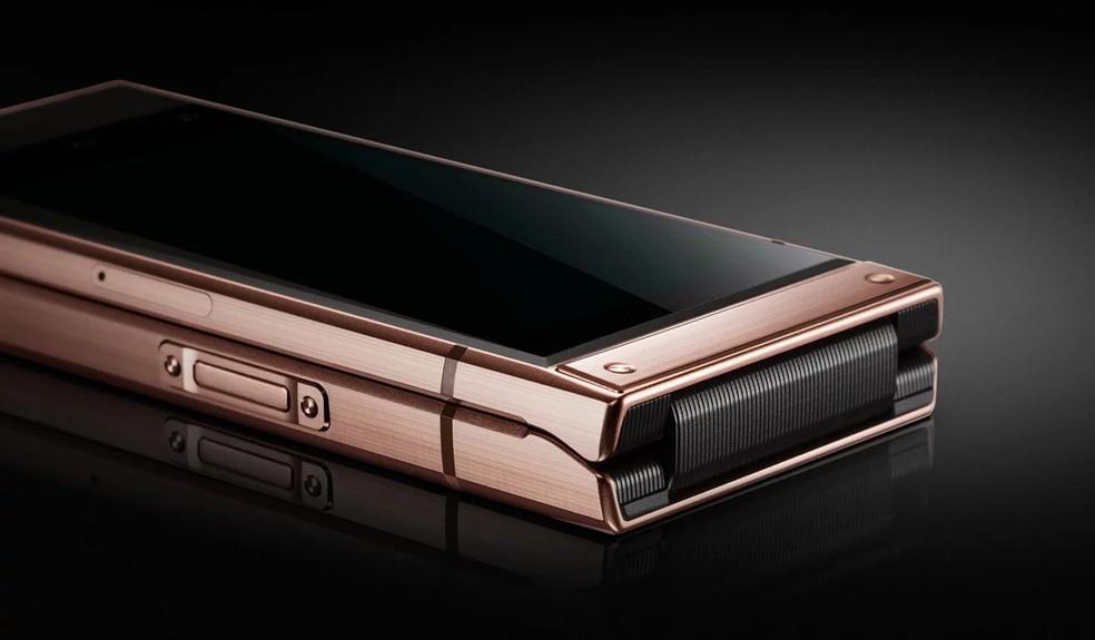 Samsung W2019: smartphone tem preço sugerido de 18.999 yuans, cerca de R$ 10.230 em conversão direta — Foto: Divulgação/Samsung
