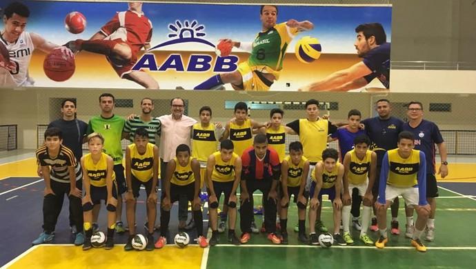 AABB Natal sub-13 futsal (Foto: Divulgação)