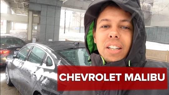 Chevrolet Malibu: primeiras impressões