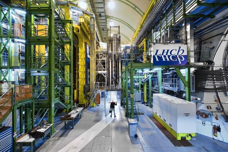 (Foto: LHCb. Maximilien Brice et al./CERN)