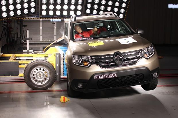 Latin Ncap novo Renault Duster (Foto: Divulgação/Latin Ncap )