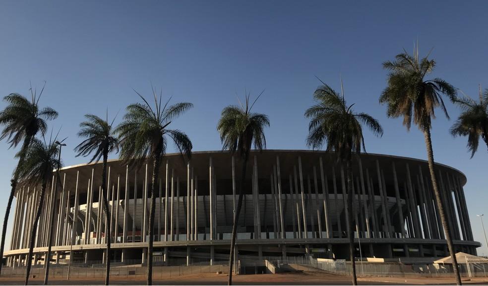 Estádio Mané Garrincha — Foto: Nicole Angel/ G1 DF