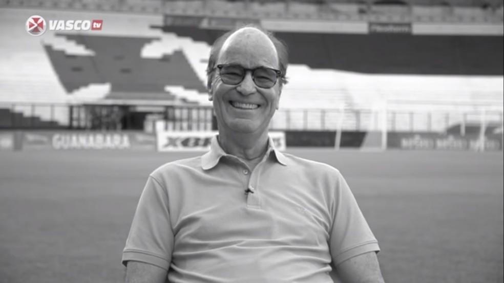 Antônio Lopes monta time dos sonhos do Vasco — Foto: Reprodução/Vasco TV