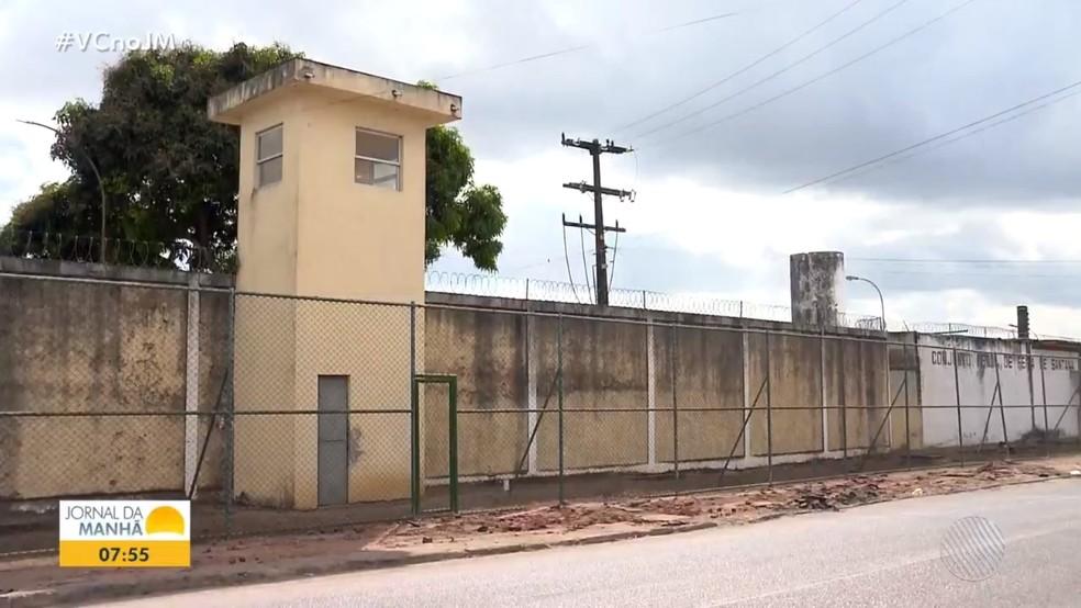 Conjunto Penal de Feira de Santana — Foto: Reprodução / TV Bahia