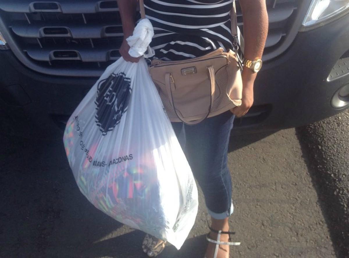 Mulher é presa suspeita de furtar roupas em loja de Rorainópolis para revender em Boa Vista