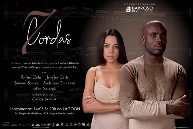 Cartaz do filme 7 Cordas (Foto: Divulgação)
