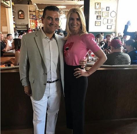 Buddy Valastro e a esposa Lisa (Foto: Instagram)