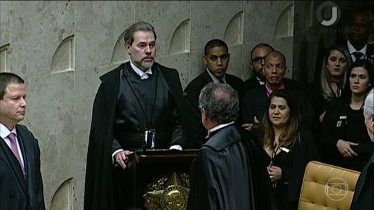 Dias Toffoli assumirá Presidência da República na próxima semana