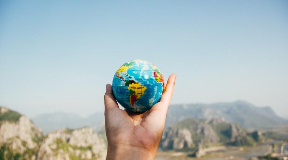 mundo, globo terrestre (Foto: Reprodução/Pexels)