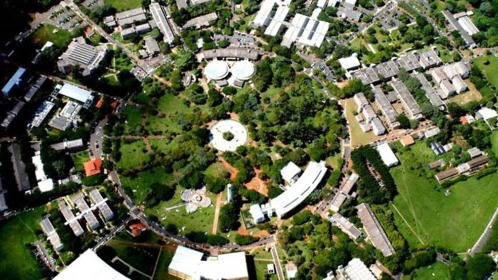 Campus da Unicamp, em Campinas (Foto: Antoninho Perri/ Unicamp )