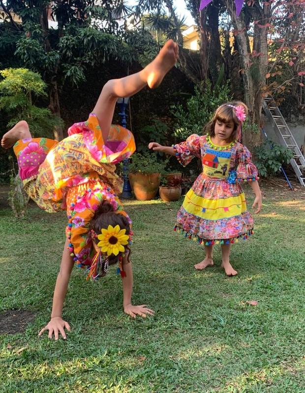 Mariana Maffeis é mãe de Joana, 9 anos, e María, 5 (Foto: Coleção pessoal)