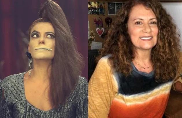 """Patricya Travasso foi Mary, uma atriz de pornochanchadas. Seu último papel da TV foi na série """"O dono do lar"""", em 2019 (Foto: Reprodução)"""