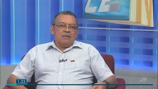 Francisco Gonzaga, candidato ao governo do CE, é entrevistado no CETV 1ª edição