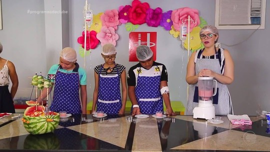 Culinarista leva momento de alegria para crianças de um hospital em Teresina