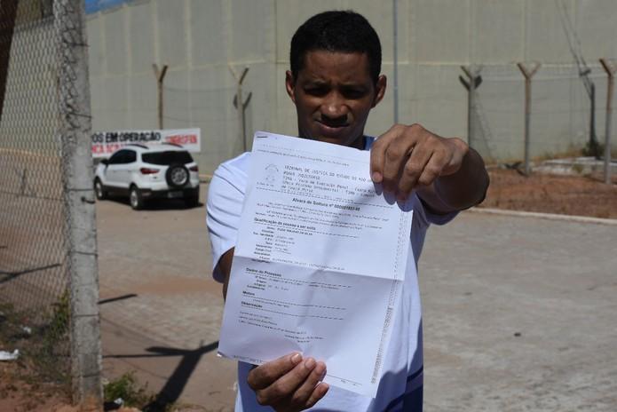 Элдис Траяно да Силва был арестован с 2017 года вместо своего брата в РН и освобожден 9 декабря - Фото: Фото: Tribuna do Norte / Adriano Abreu