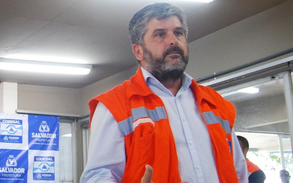 Gustavo Ferraz é diretor-geral do Defesa Civil de Salvador (Foto: Divulgação / Secom)