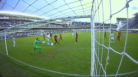 Assista ao gols de Santos 3 x 0 Sport