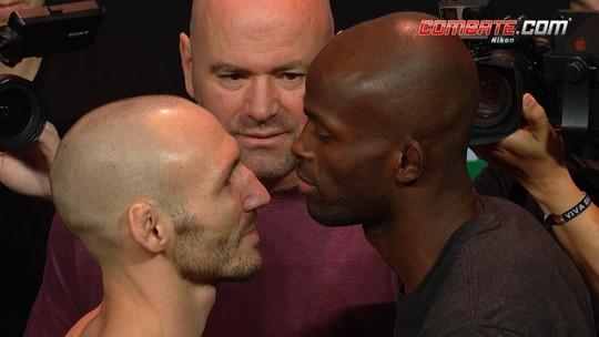 Lando Vanatta e Marcos Dhalsim fazem a encarada pelo peso leve no UFC 234