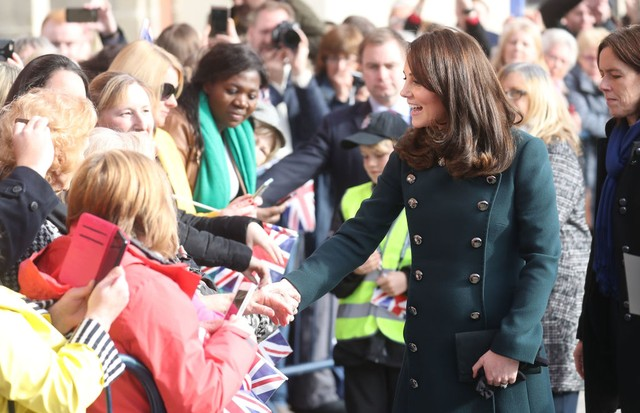 Kate Middleton em Suderland, na Inglaterra (Foto: Getty Images)