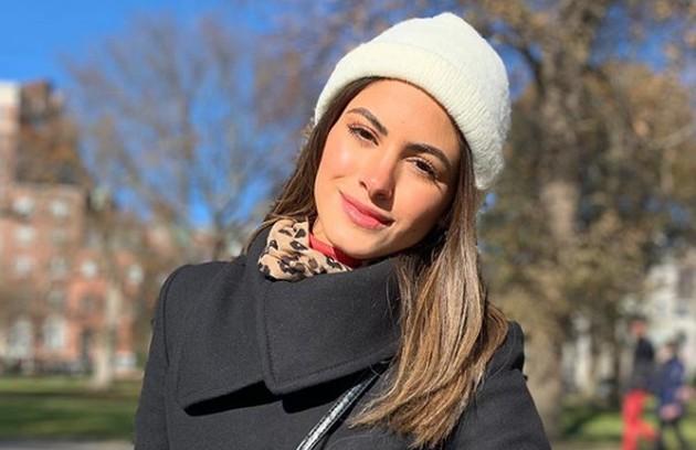 Leticia, de 25 anos, interpretará a nora de Maria Enfisema, uma das personagens do ator. A cena se passará numa festa de Natal (Foto: Reprodução)