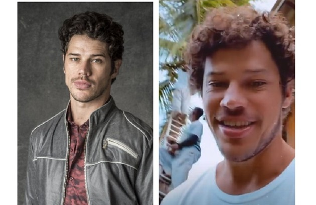 José Loreto deixou o cabelo crescer para o papel de Tadeu na história (Foto: Reprodução)
