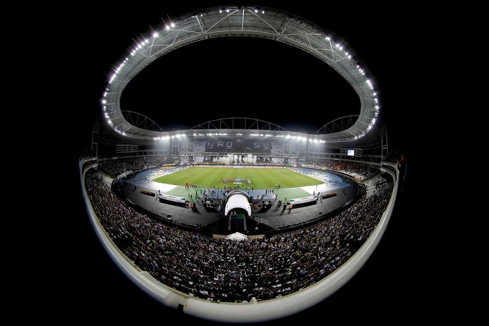 Fator casa tem sido ponto forte do Botafogo na temporada (Foto: Satiro Sodré / SSPress)