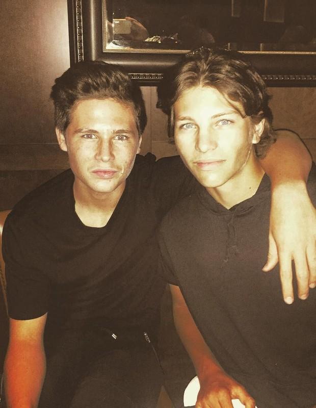 Cannon e Chance King, filhos de Larry King (Foto: Reprodução/Instagram)