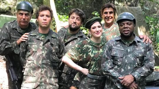'Teile e Zaga no Exército'; confira o esquete antecipado com Rodrigo Sant'Anna
