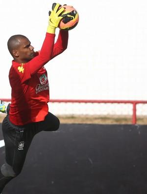 Jefferson treino Seleção Brasília (Foto: Mowa Press)