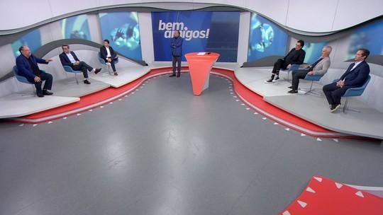 """""""Bem, Amigos!"""" fica em cima do muro em Grêmio x Flamengo pela Libertadores: """"É 50/50"""""""