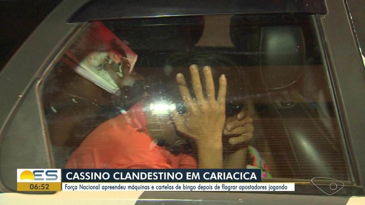 Cassino clandestino é fechado em Cariacica, ES, após denúncia - G1