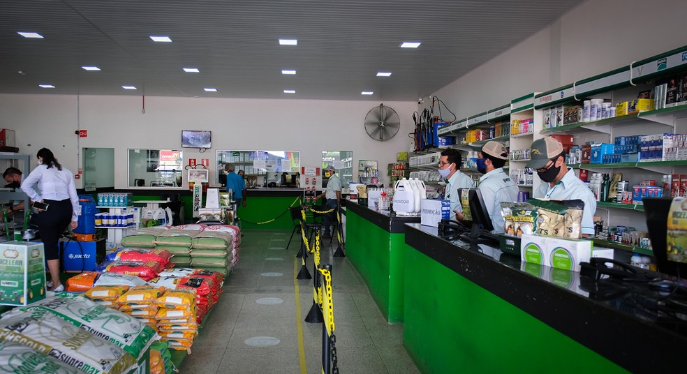 Interior Loja de Ji-Paraná — Foto: Fonte Premium