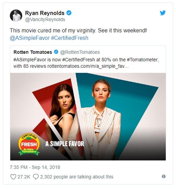 Ryan Reynolds (Foto: Twitter)