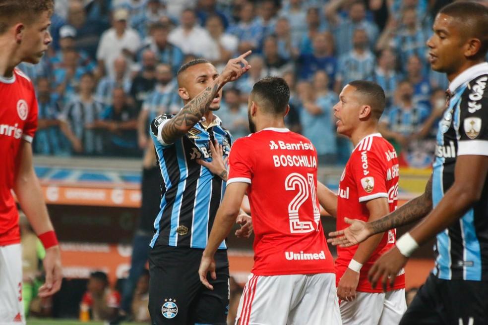Everton não criou tanto no Gre-Nal — Foto: Eduardo Moura/GloboEsporte.com