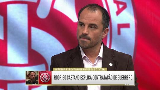 """Executivo do Inter aposta em lucros com chegada de Guerrero: """"Ajuda nas  receitas"""""""
